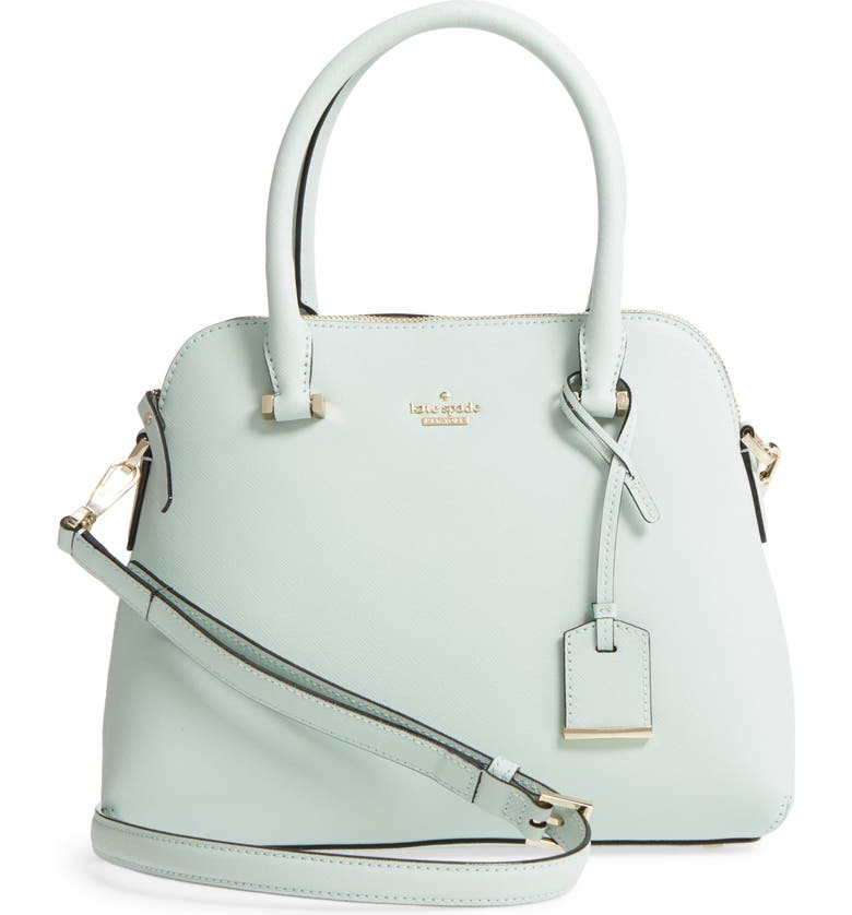 KATE SPADE NEW YORK cameron street maise leather satchel, Main, color, 302