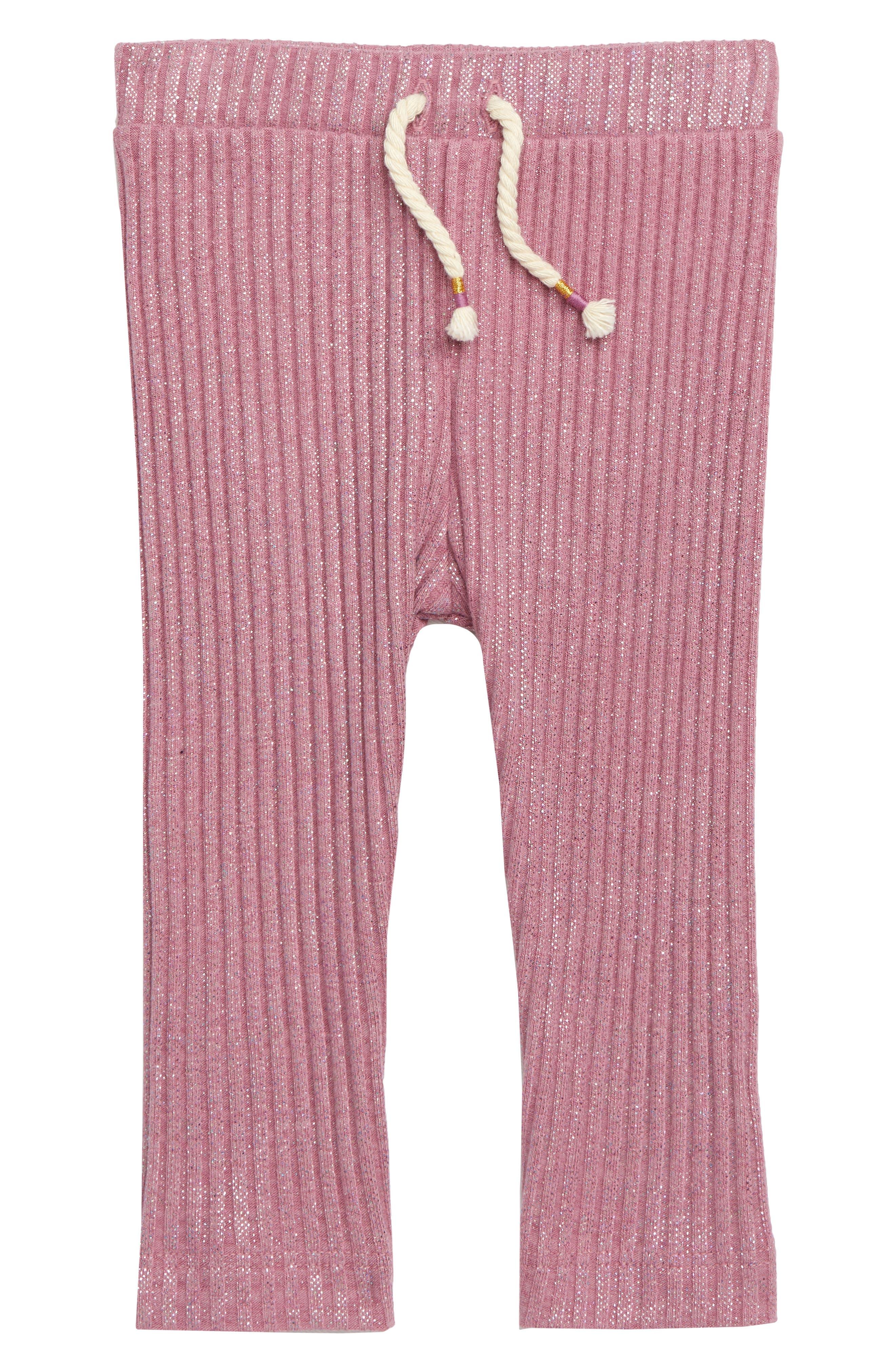 Shimmer Ribbed Leggings, Main, color, 650