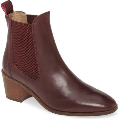 Joules Hartford Chelsea Boot, Red