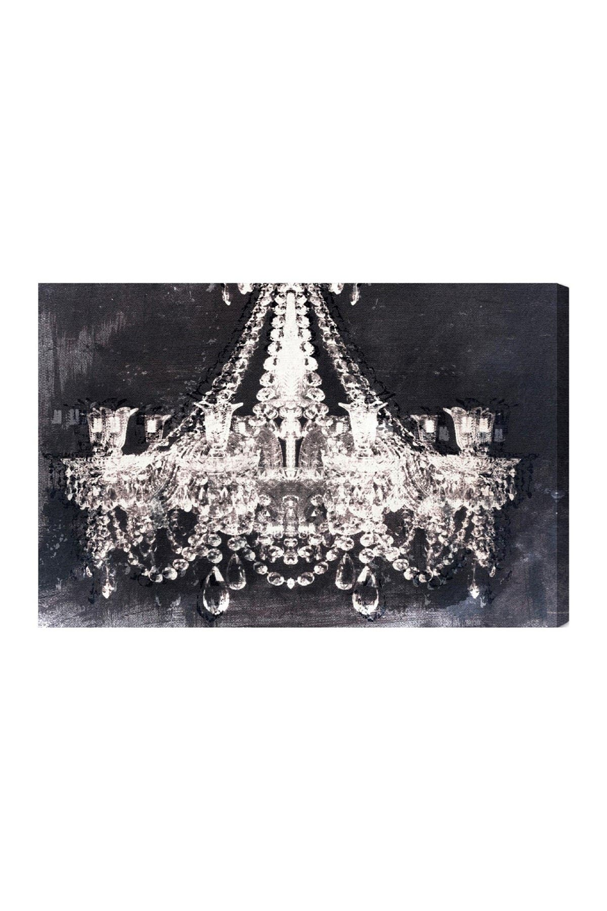 Image of Oliver Gal Gallery Dramatic Entrance Night Canvas Art