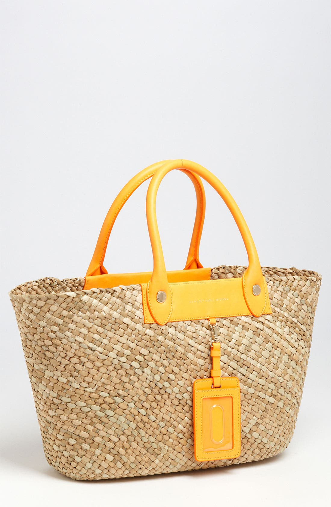 ,                             MARC BY MARC JACOBS 'Preppy' Straw Tote,                             Main thumbnail 2, color,                             825