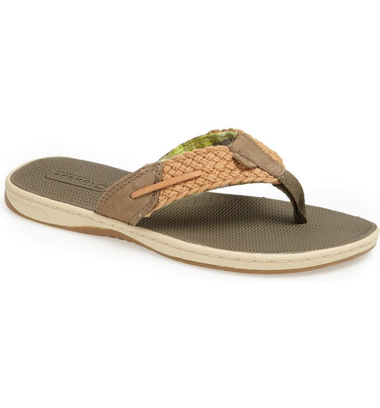 SPERRY 'Parrotfish' Thong Sandal, Main, color, 322