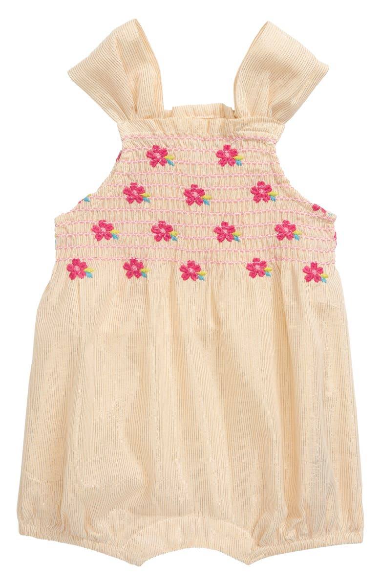 HATLEY Floral Embroidered Bubble Romper, Main, color, 900
