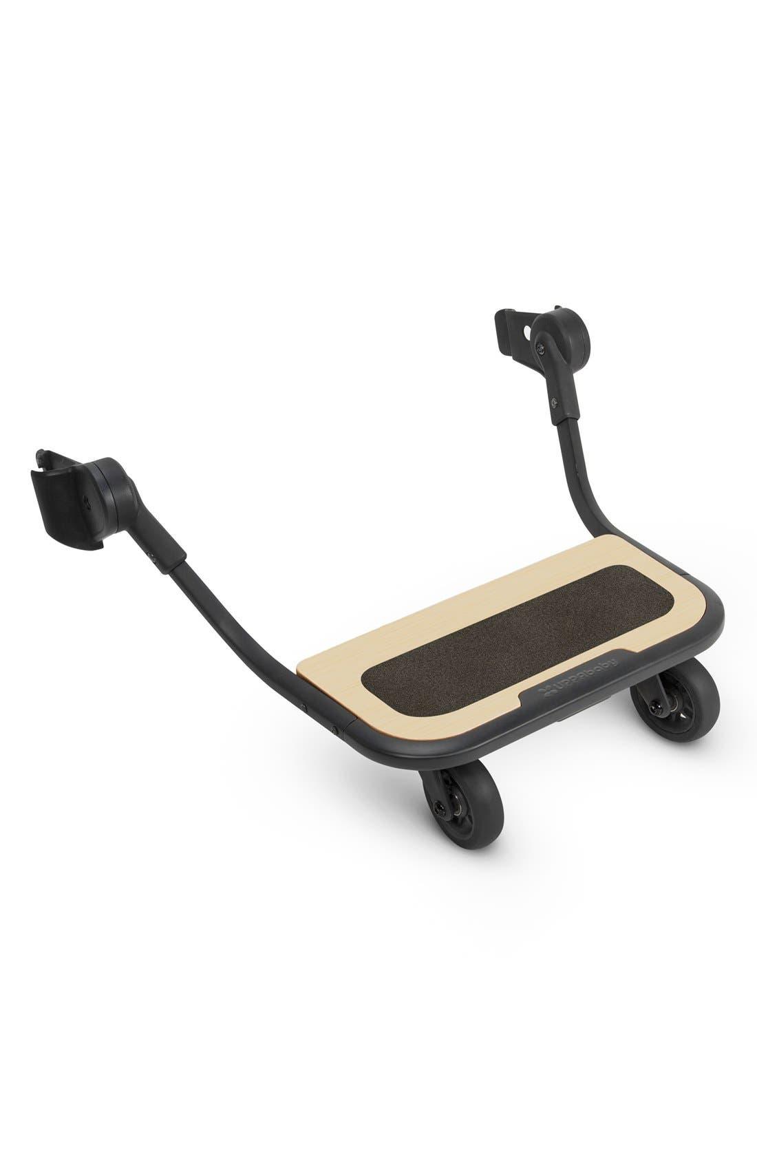 ,                             VISTA Stroller PiggyBack Ride-Along Board,                             Main thumbnail 1, color,                             BLACK