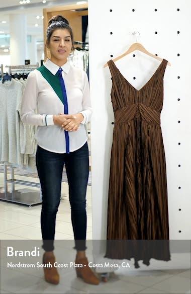 Angela Buckle Back Maxi Dress, sales video thumbnail