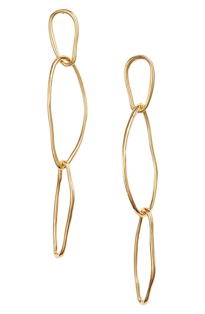 GORJANA Rowan Drop Earrings, Main, color, 710