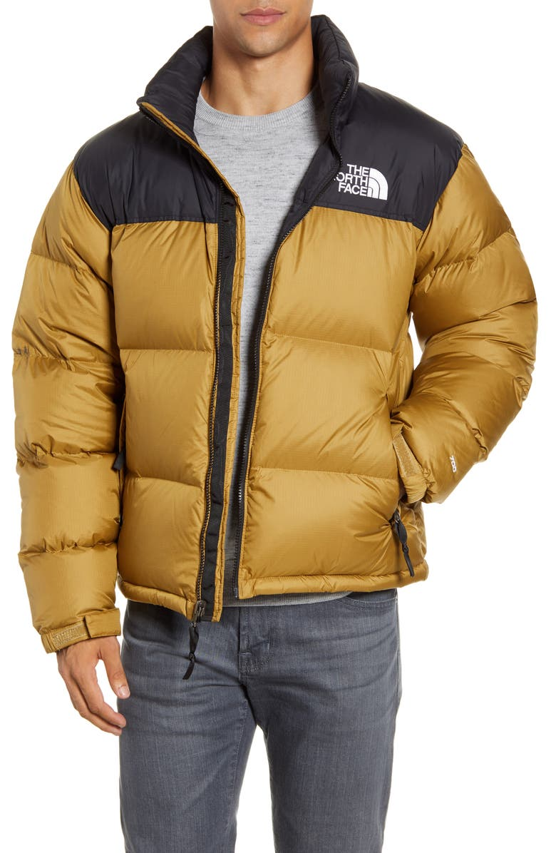 THE NORTH FACE Nuptse 1996 Packable Quilted Down Jacket, Main, color, BRITISH KHAKI