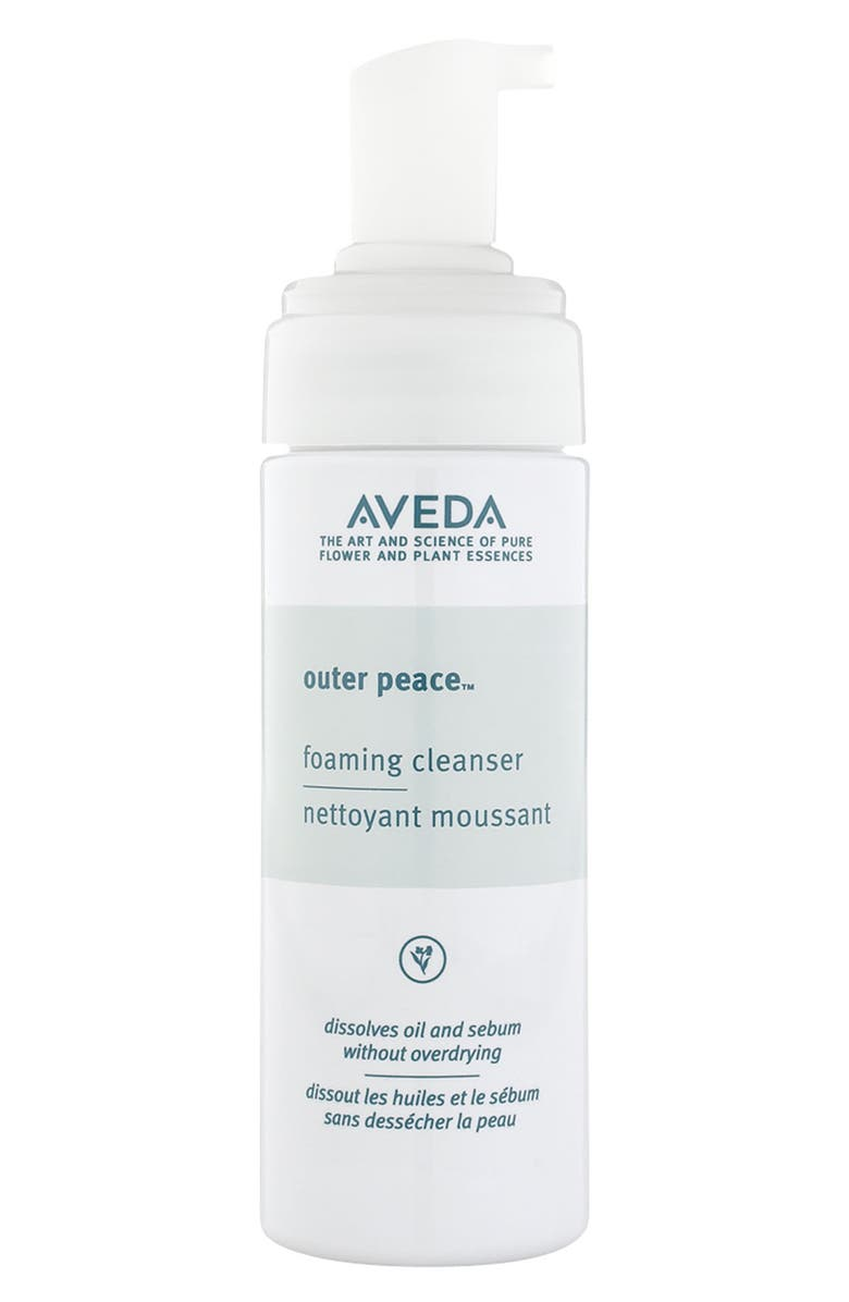 AVEDA outer peace<sup>™</sup> Foaming Cleanser, Main, color, NO COLOR