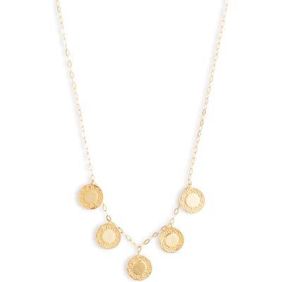 Argento Vivo Grecian Charm Necklace