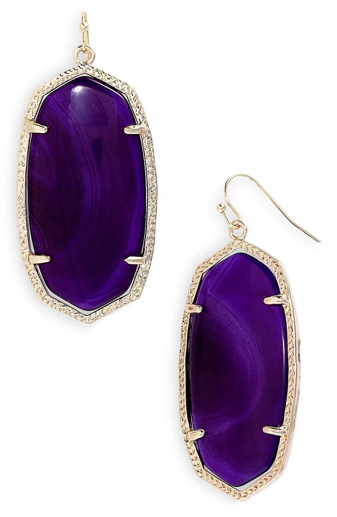 ,                             'Danielle' Oval Statement Earrings,                             Main thumbnail 42, color,                             500