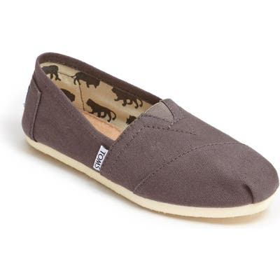 Toms Classic Canvas Slip-On, Grey