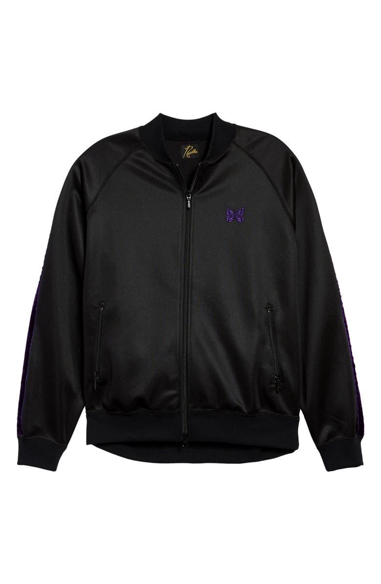 NEEDLES Side Line Track Jacket, Main, color, BLACK PURPLE