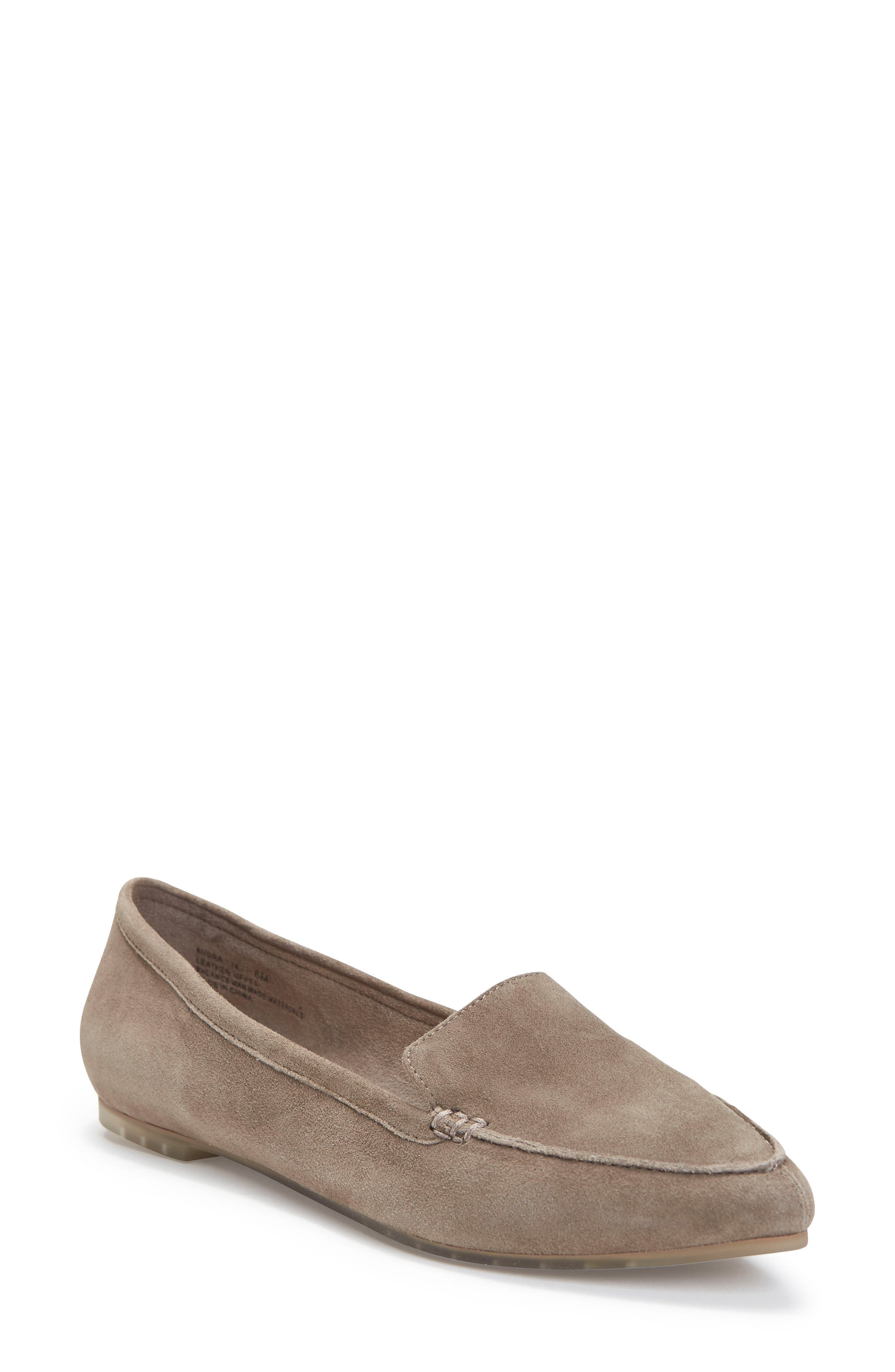 Me Too Audra Loafer Flat- Grey