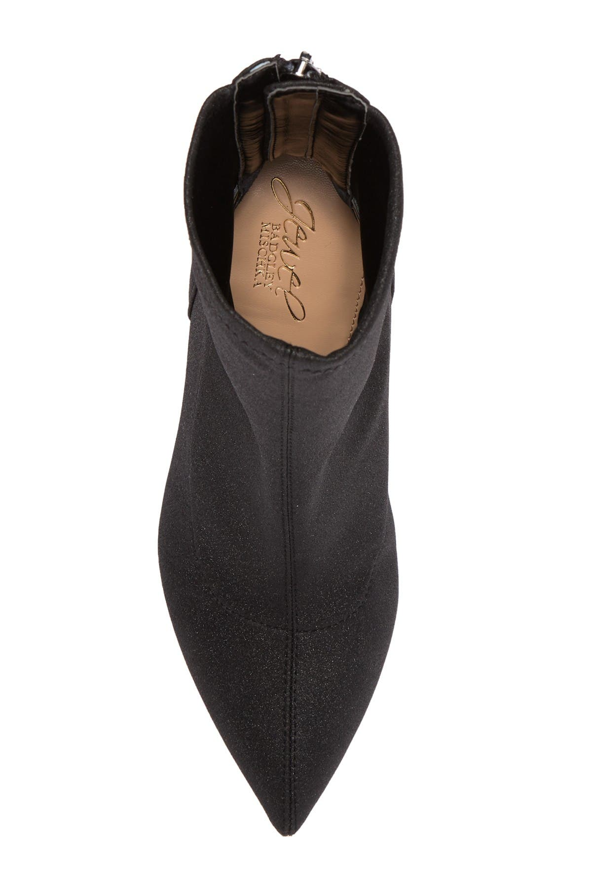 Image of Jewel Badgley Mischka Marabel Stiletto Sock Bootie
