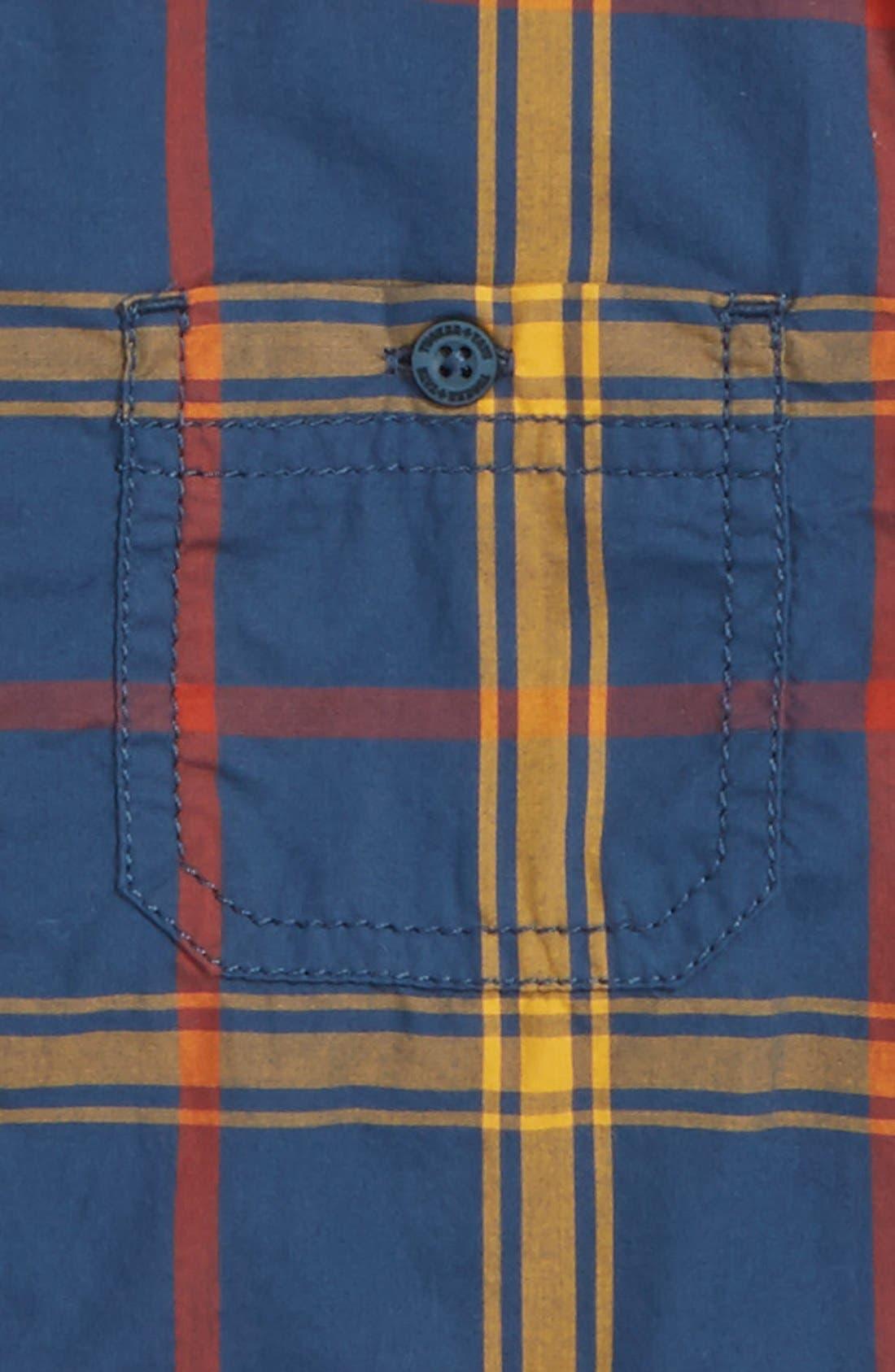 ,                             'Photo' Buffalo Plaid Woven Shirt,                             Alternate thumbnail 23, color,                             411