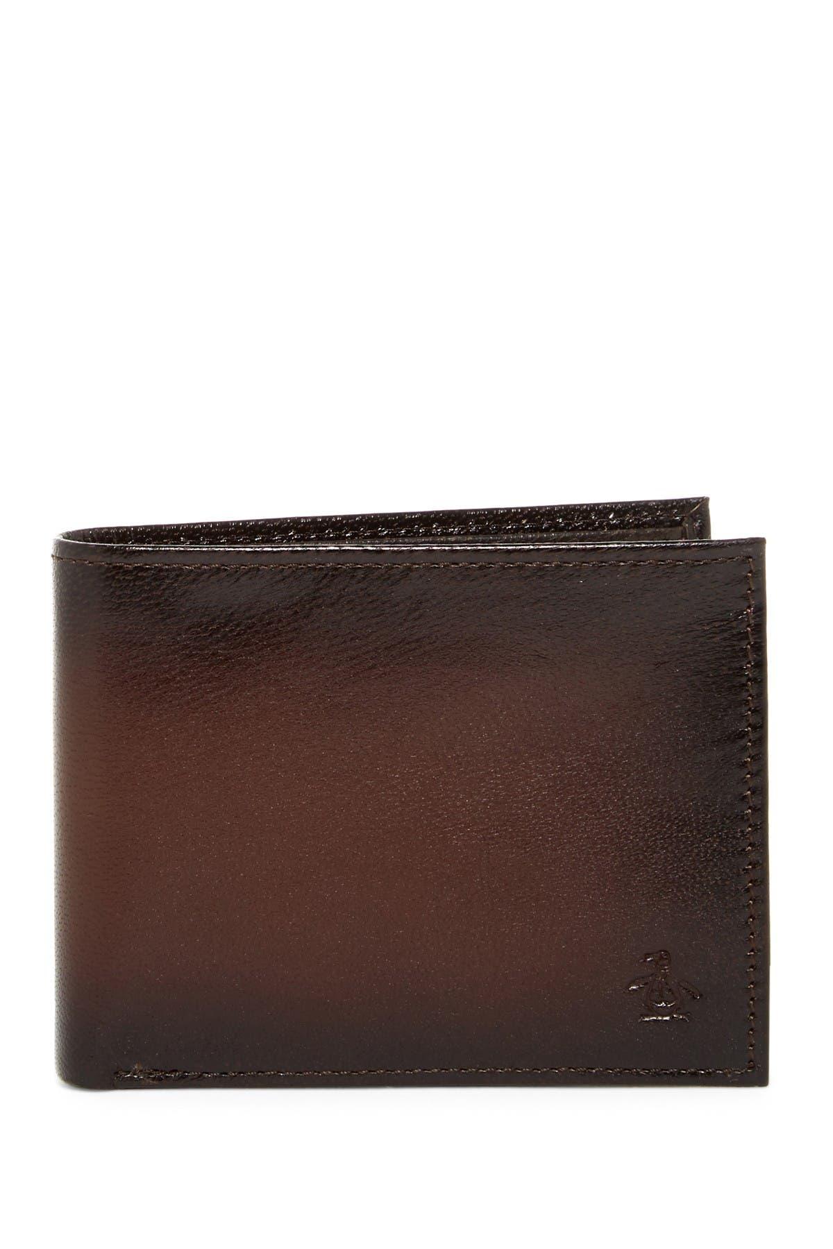 Image of Original Penguin Michigan Slim Bi-Fold Wallet