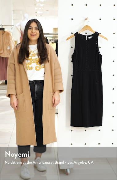 First Point Rickrack Trim Sheath Dress, sales video thumbnail