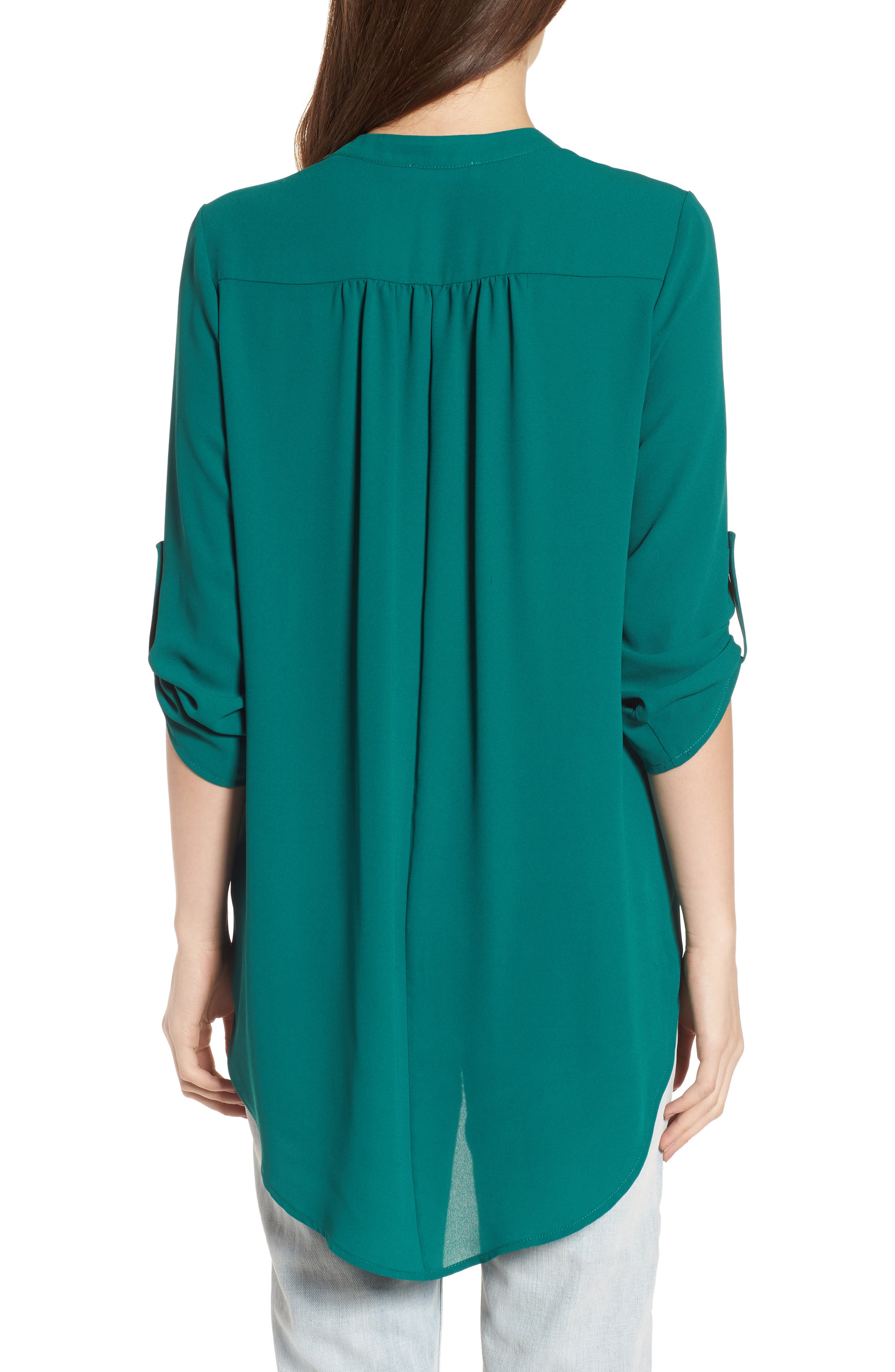 ,                             Perfect Roll Tab Sleeve Tunic,                             Alternate thumbnail 58, color,                             317