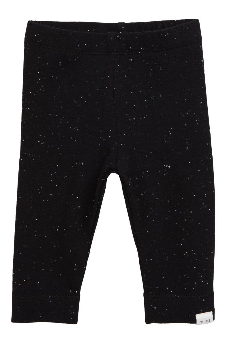 MILES baby Leggings, Main, color, BLACK