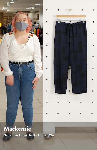 Ribbed Wide Leg Pants, sales video thumbnail