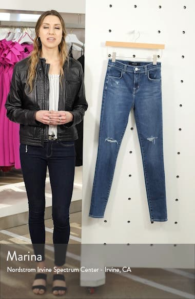 Maria High Waist Skinny Jeans, sales video thumbnail