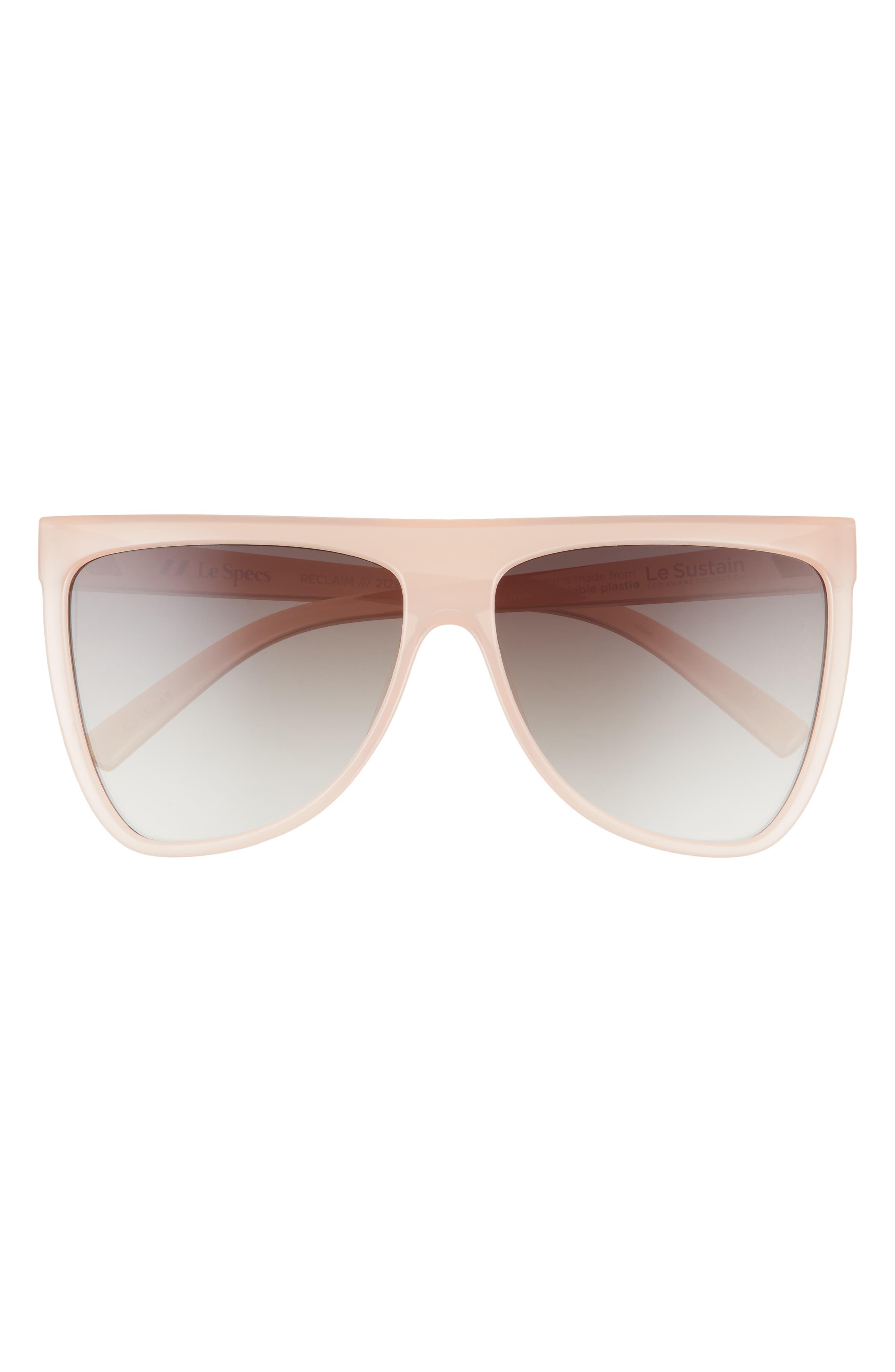 Reclaim 60mm Flat Top Sunglasses