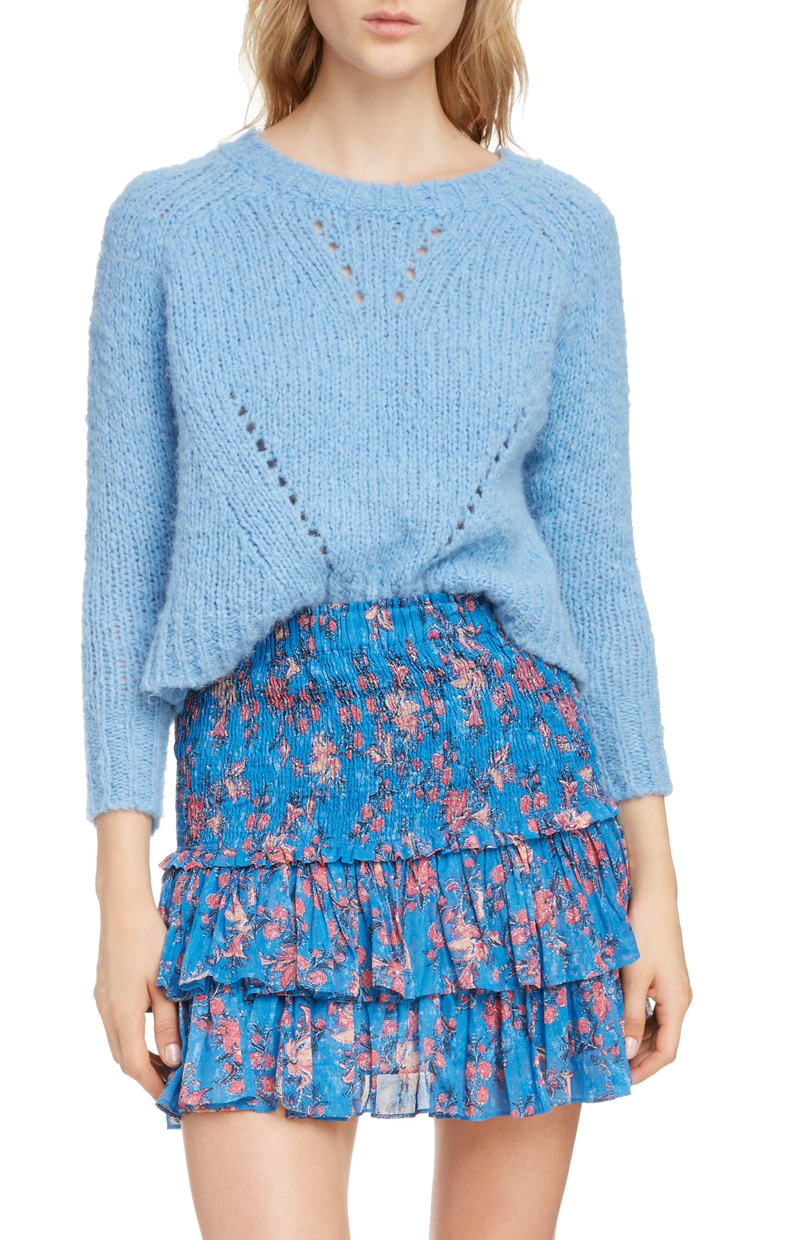,                             Shields Sweater,                             Main thumbnail 1, color,                             LIGHT BLUE