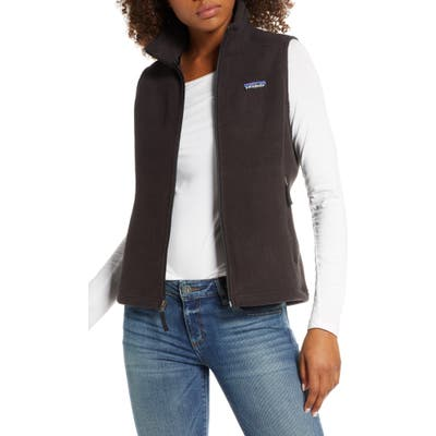 Patagonia Classic Synchilla Recycled Fleece Vest, Black