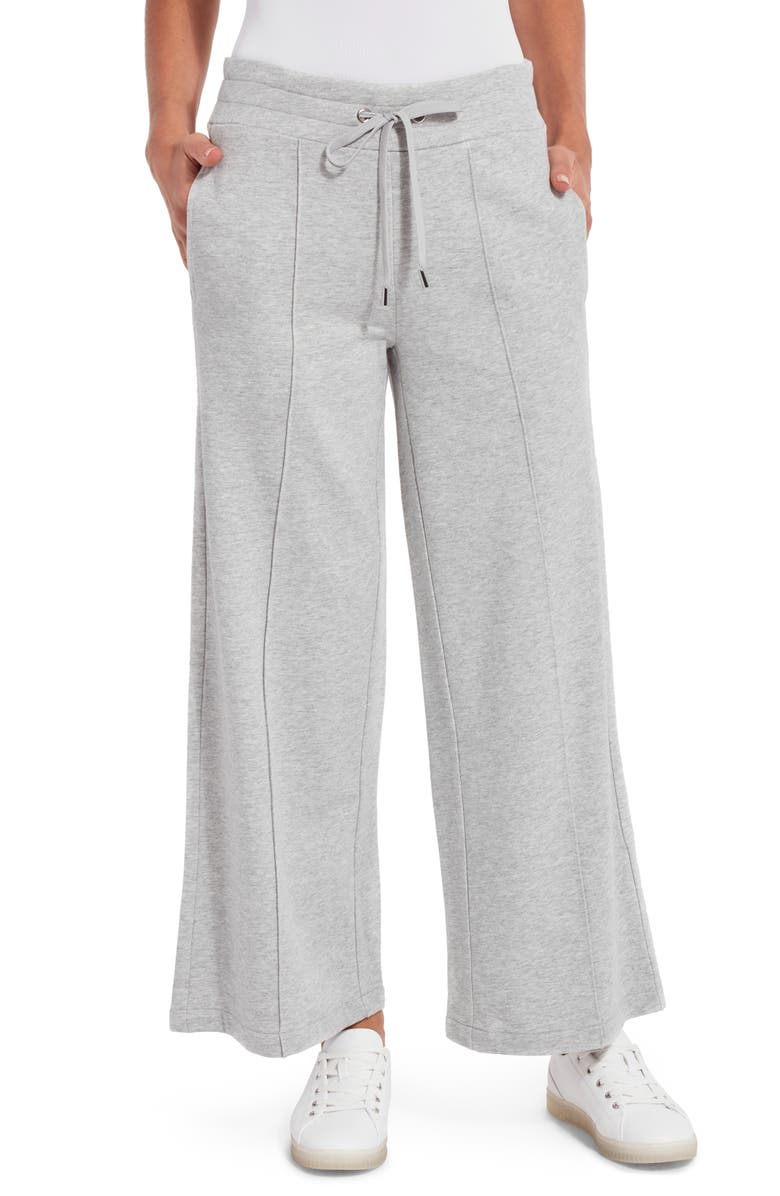 LYSSÉ Crop Lounge Pants, Main, color, GREY MELANGE