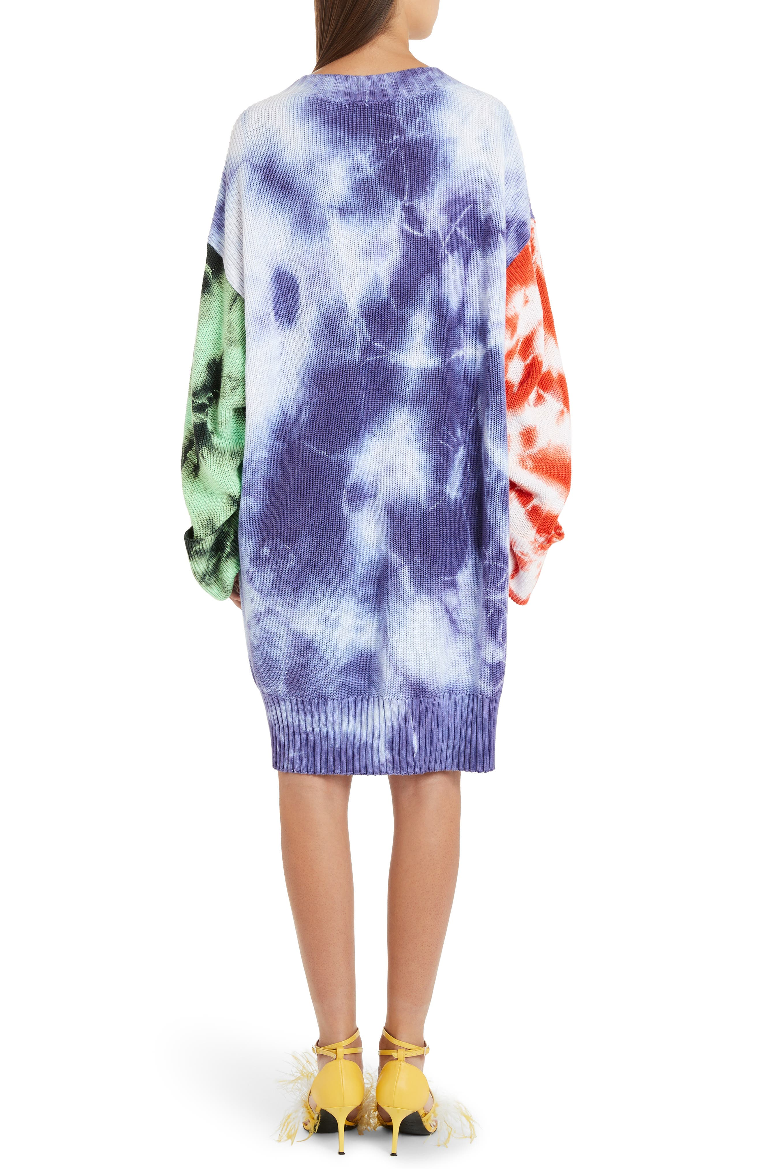 ,                             Oversize Tie Dye Sweater,                             Alternate thumbnail 2, color,                             MULTICOLOR