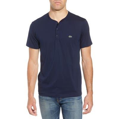 Lacoste Regular Fit Henley T-Shirt, Blue