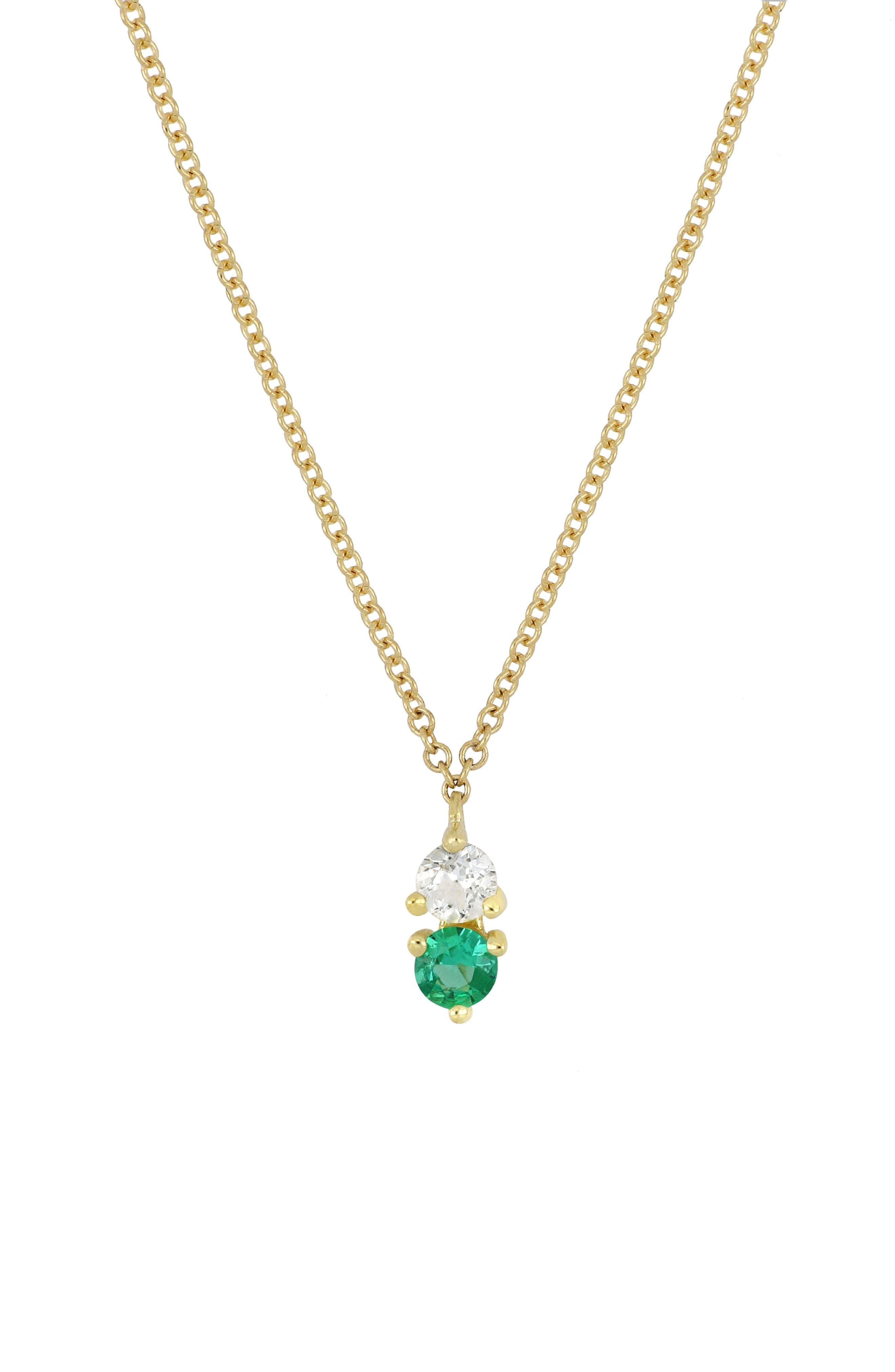 ,                             Birthstone Pendant Necklace,                             Main thumbnail 5, color,                             300