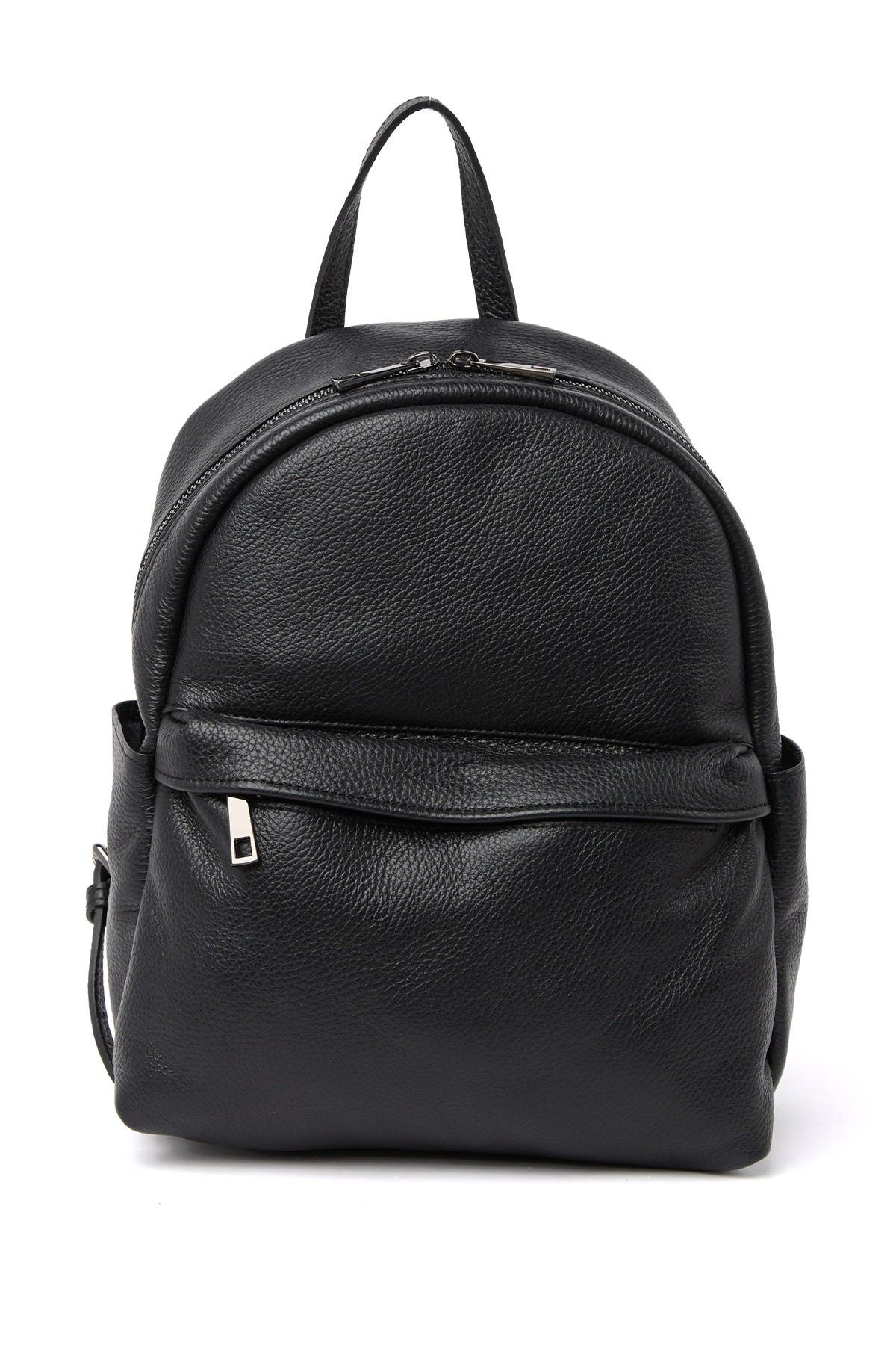 Image of Massimo Castelli Leather Backpack