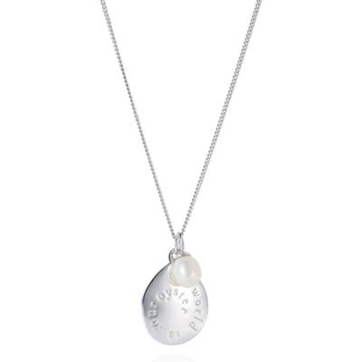 Claudia Bradby The World Is Your Oyster Necklace
