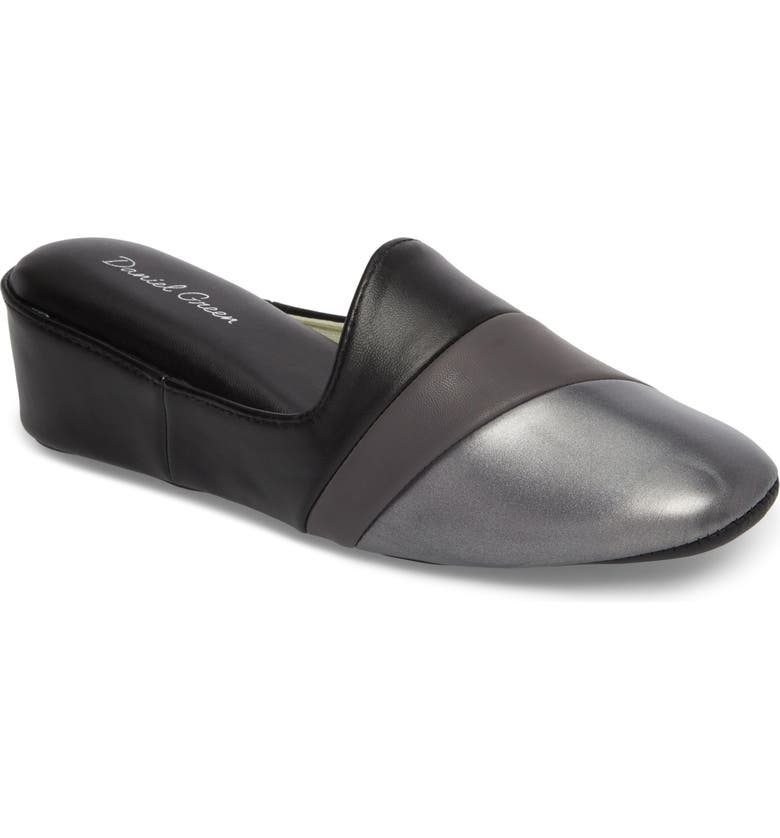 DANIEL GREEN Denise Loafer Mule, Main, color, BLACK MULTI