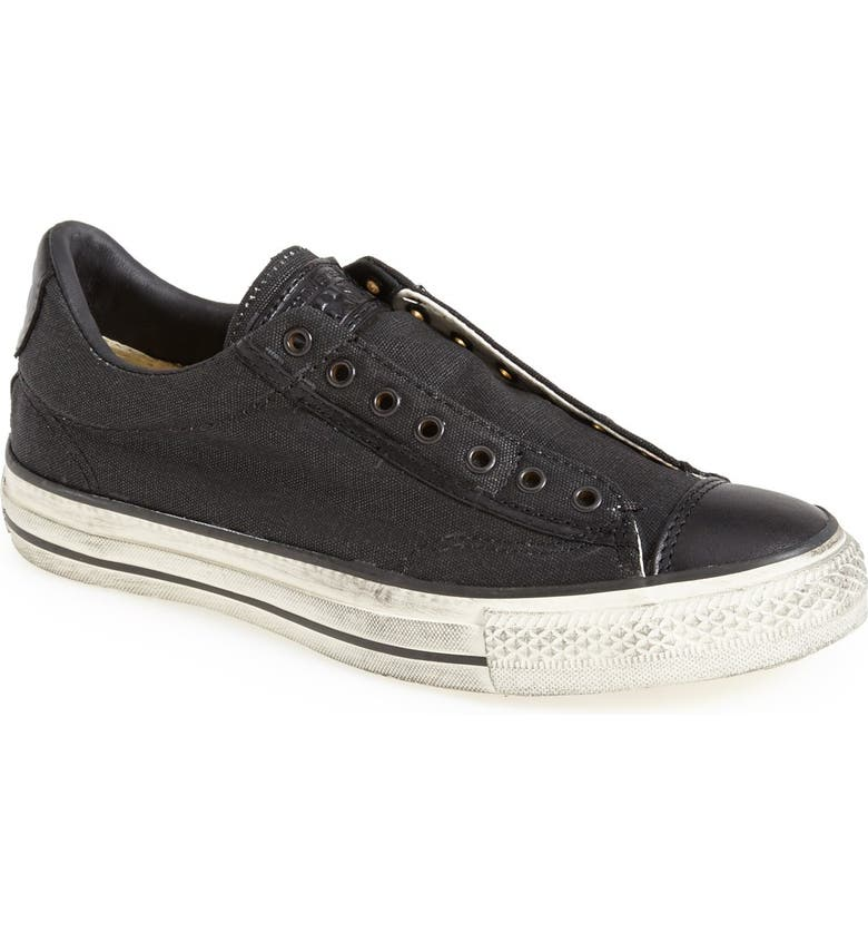 CONVERSE BY JOHN VARVATOS Chuck Taylor<sup>®</sup> All Star<sup>®</sup> Laceless Sneaker, Main, color, 001