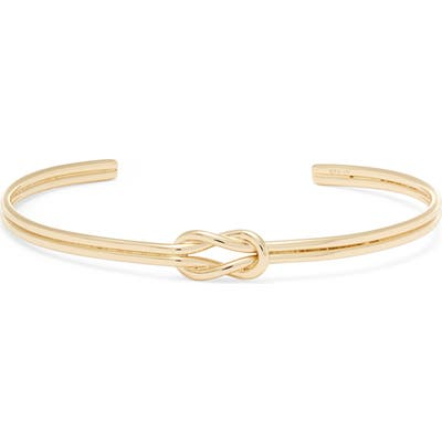 Argento Vivo Love Knot Cuff Bracelet