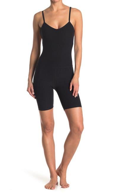 Image of Beyond Yoga Elevation Biker Scoop Back Bodysuit