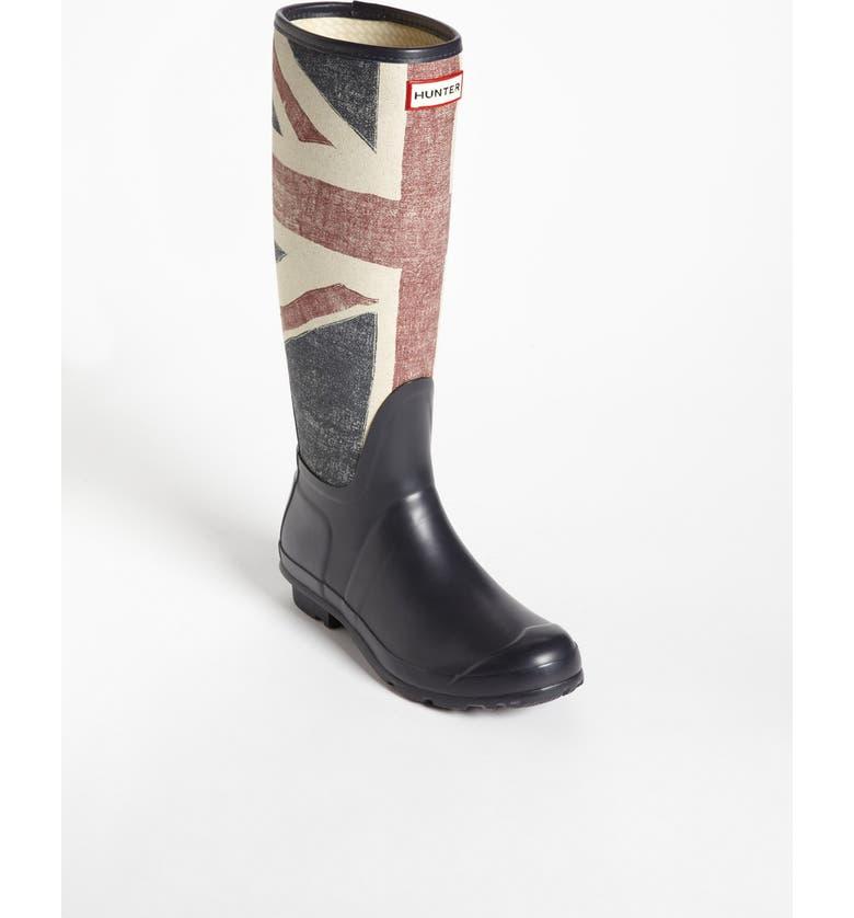 HUNTER 'Original British' Rain Boot, Main, color, 400