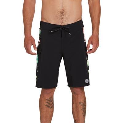 Volcom Stone Alliance Mod 20 Board Shorts, Black