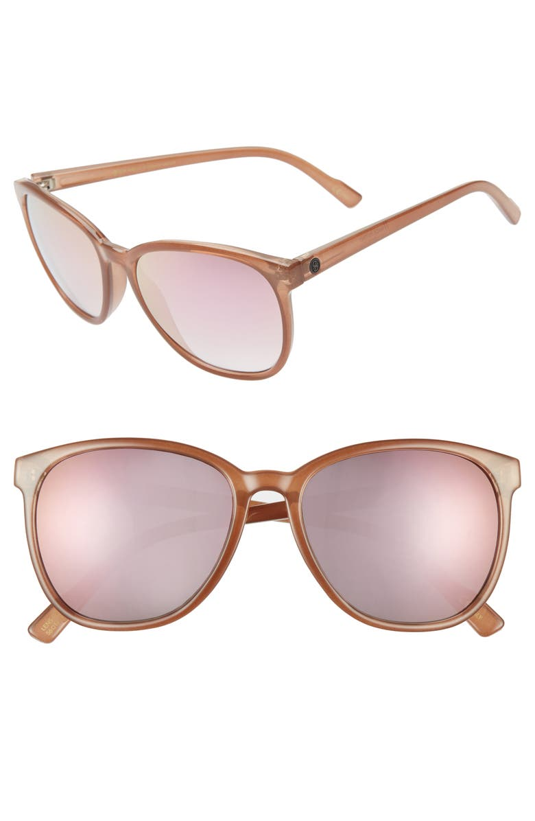 D'BLANC Afternoon Delight 56mm Gradient Lens Sunglasses, Main, color, 205