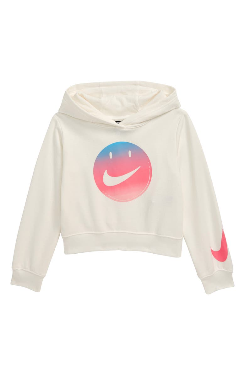 NIKE Have a Nike Day Crop Hoodie, Main, color, SAIL