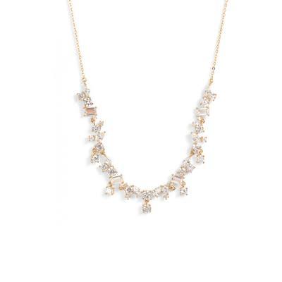 Nordstrom Cluster Droplet Collar Necklace