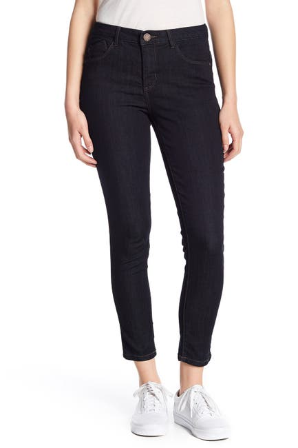 Image of Democracy High Rise Tummy Control Ankle Skinny Jeans