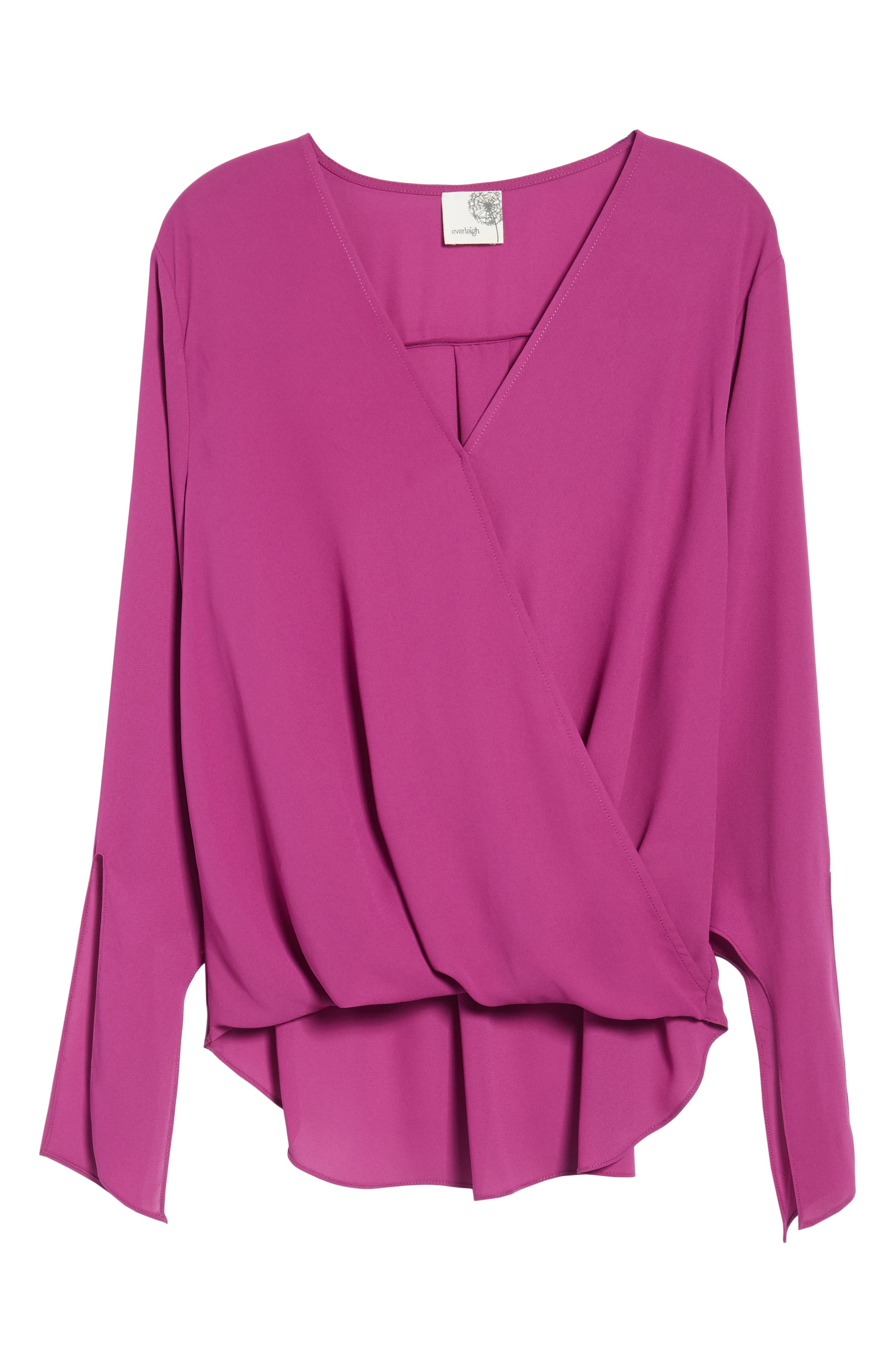 ,                             Surplice Neck Top,                             Alternate thumbnail 30, color,                             503