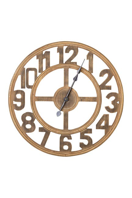 Image of Stratton Home Jen Wood Wall Clock