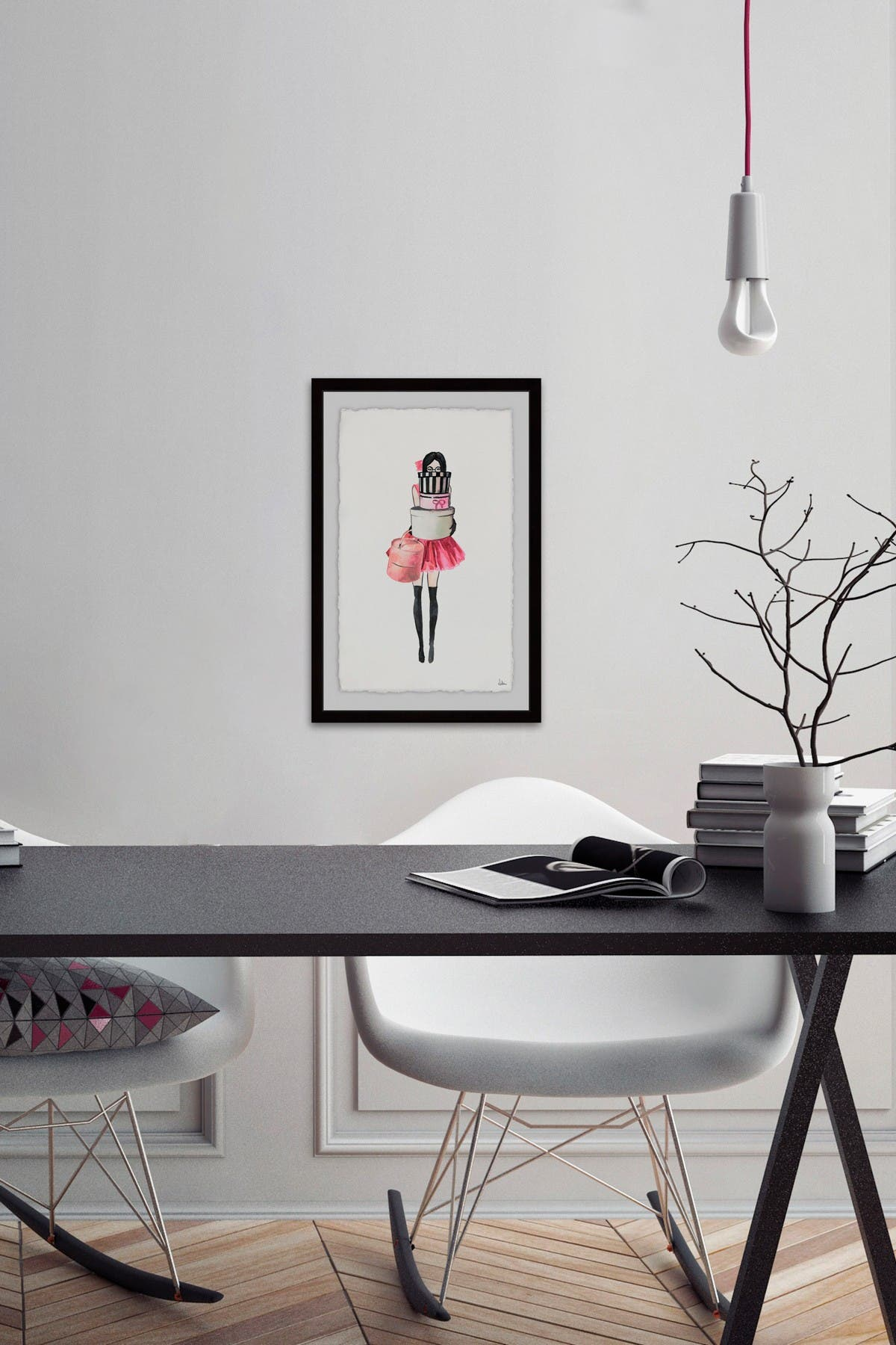 Image of Marmont Hill Inc. The Girl I Am Wall Art