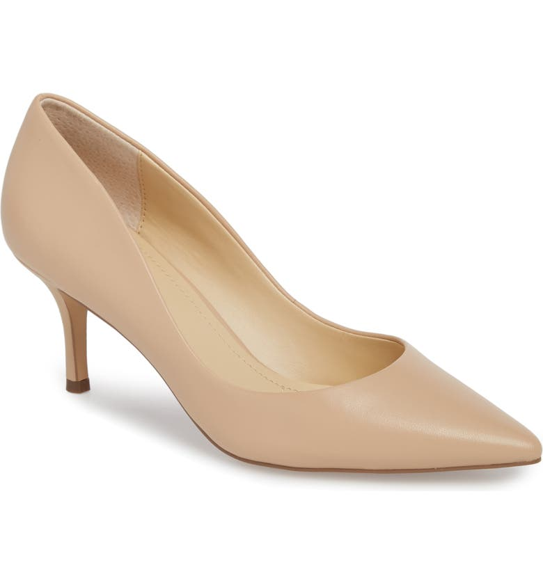CHARLES BY CHARLES DAVID Addie Pump, Main, color, NUDE LEATHER