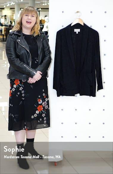Jacquard Shawl Collar Jacket, sales video thumbnail