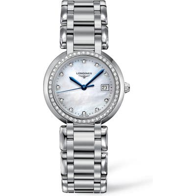 Longines Primaluna Diamond Bracelet Watch, 30Mm